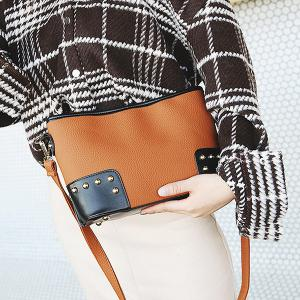 Studded Minimalist Crossbody Bag -