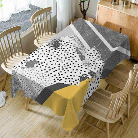 Discount Polka Dot Print Waterproof Table Cloth