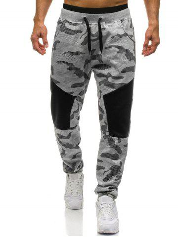 Камуфляж Drawstring Jogger Sweatpants