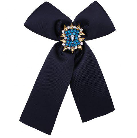 Best Diamante Corsage Bowknot Brooch