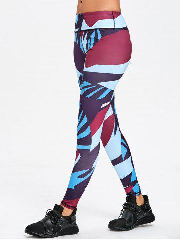 Outfits Color Block Skinny Workout Leggings