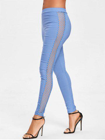 Affordable Side Fishnet Cross Pants