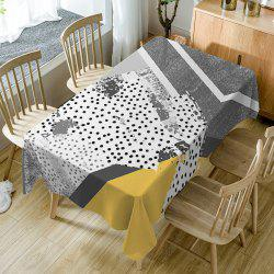 Polka Dot Print Waterproof Table Cloth -