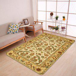 Antiskid Persian Totem Printed Home Decor Rug -