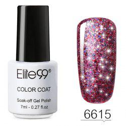 7 ml Vernis à Ongles Gel à Tremper Couleurs Brillantes -
