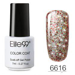 7 ML Glitter Colors Soak Off Nail Art Shiny Nail Polish -