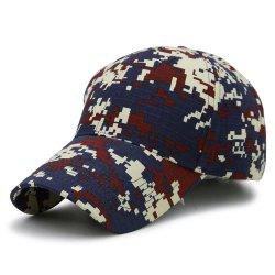 Unique Digital Pattern Printed Adjustable Baseball Hat -