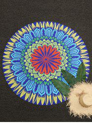 Барокко Печать Bohemian Round Beach Throw -