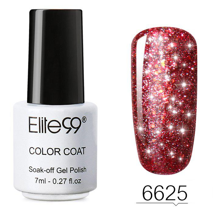 Sale 7 ML Glitter Colors Soak Off Nail Art Shiny Nail Polish