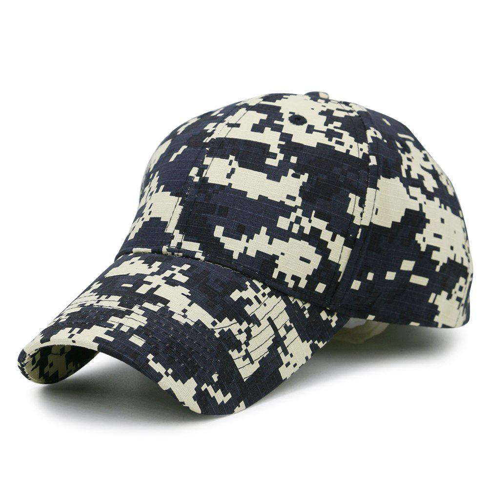 New Unique Digital Pattern Printed Adjustable Baseball Hat