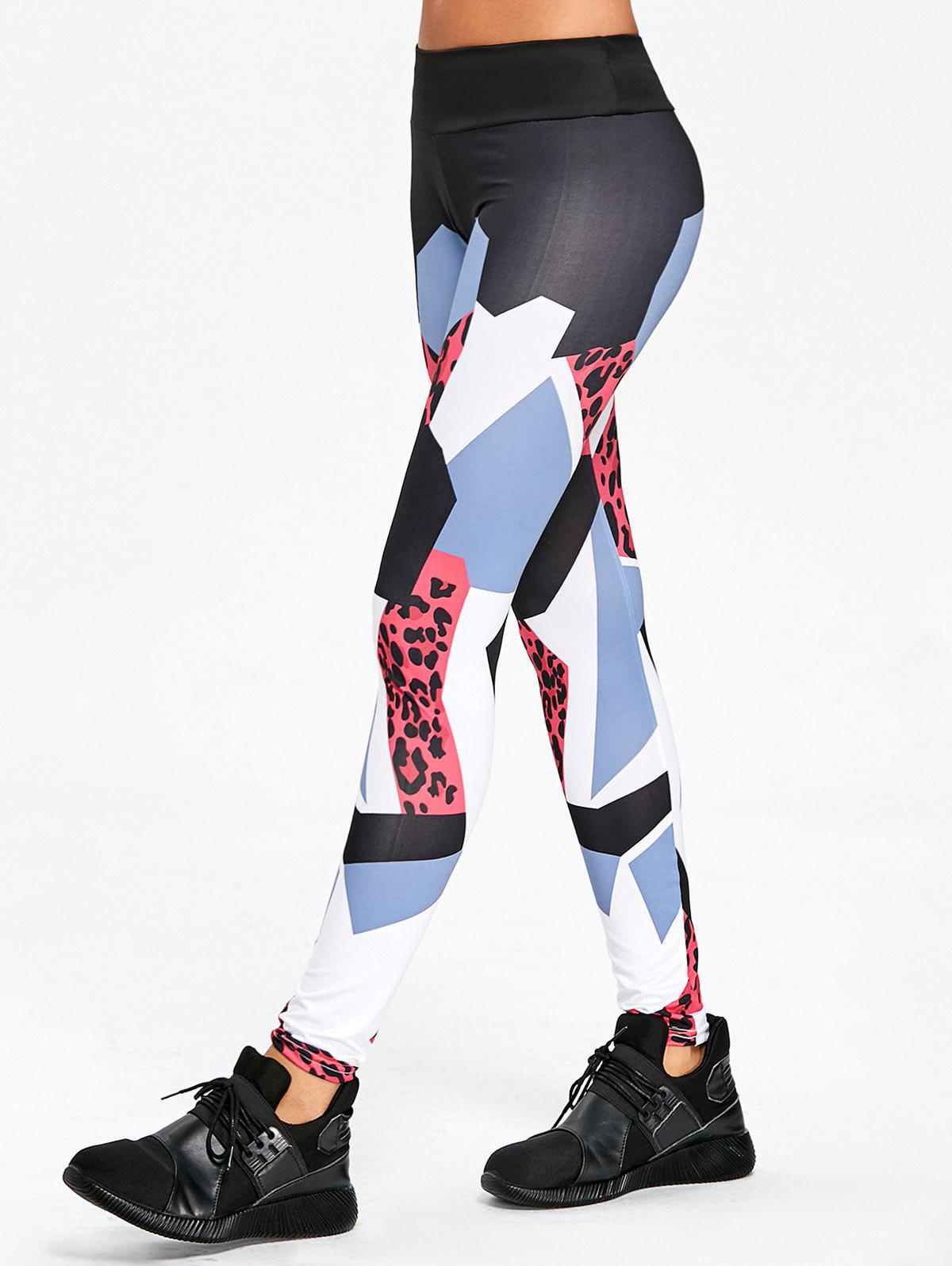 Outfit High Rise Yoga Geometric Pattern Leggings
