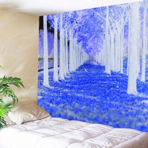 Wall Art Forest Path Way Printed Tapestry -