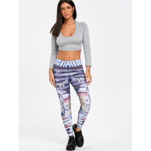 Leggings de sport maigres -