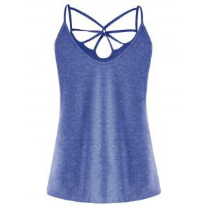 Strappy Cut Out Tank Top -