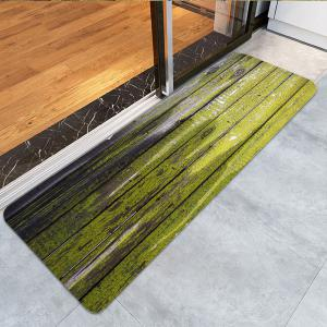 Dry Paint Laths Printed Skidproof Rug -
