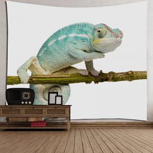Chameleon Stand on the Tree Printed Tapestry -