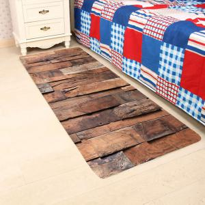 Wood Board Pattern Anti-skid Living Room Area Rug -