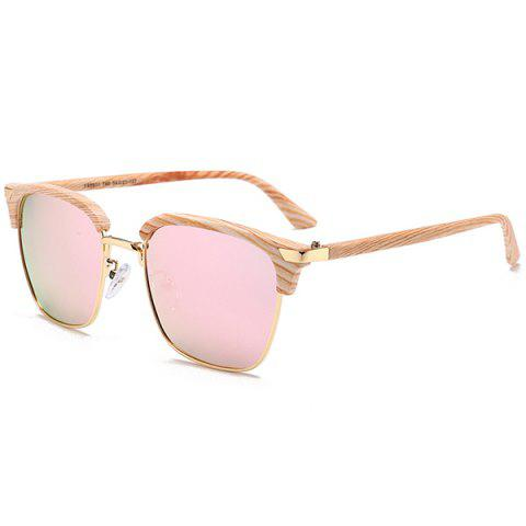 Hot Unique Semi-frame Square Sunglasses