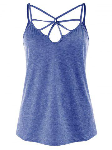 Affordable Strappy Cut Out Tank Top