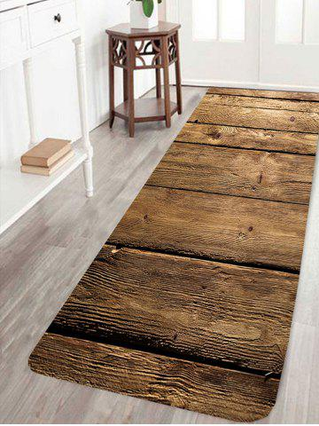 New Wood Flooring Pattern Anti-skid Indoor Outdoor Area Rug