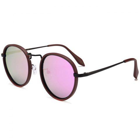 Shops Anti-fatigue Metal Full Frame Round Sunglasses