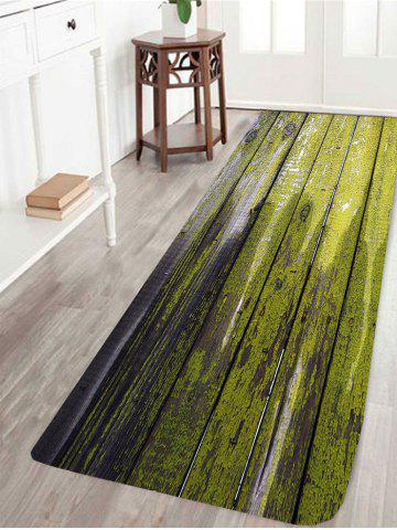 Fashion Dry Paint Laths Printed Skidproof Rug