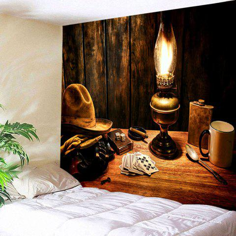 Outfits Cowboy Hat Lamp Printed Tapestry