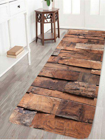 Outfits Wood Board Pattern Anti-skid Living Room Area Rug