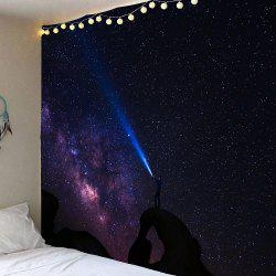 Starry Night Print Hanging Wall Art Tapestry -