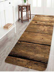 Wood Flooring Pattern Anti-skid Indoor Outdoor Area Rug -