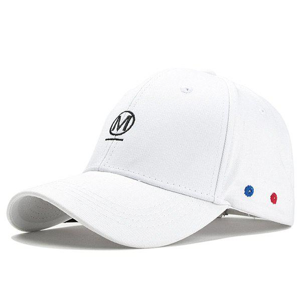 Outfit Unique Letter Embroidery Fringed Baseball Hat