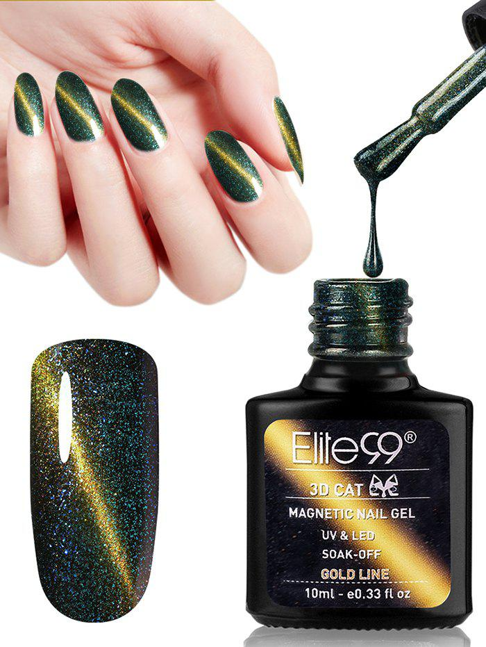 10ml 3d Magnetic Gel Cat Eye Soak Off Nail Art Nail Polish | RoseGal.com