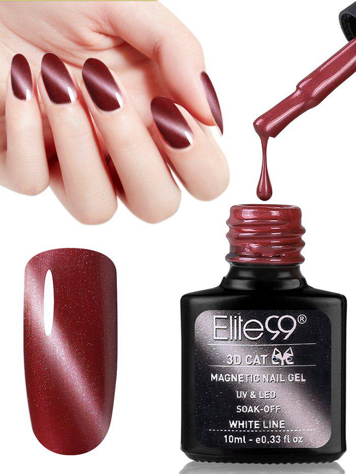 Fashion 10ML Red Series 3D Cat Eye Soak Off Nail Art Nail Polish
