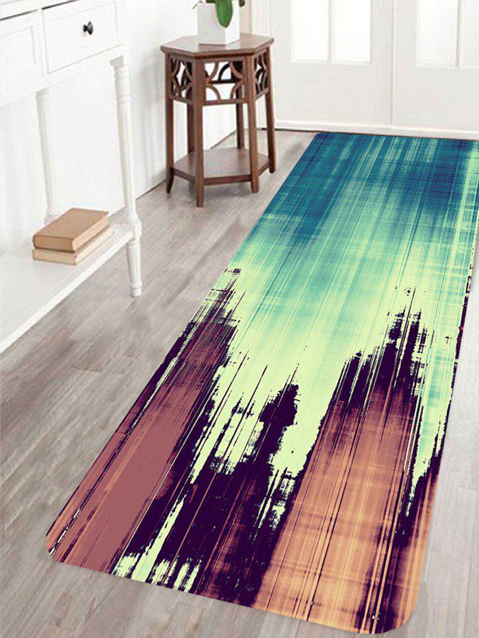 Latest Woodgrain Pattern Non-slip Area Rug