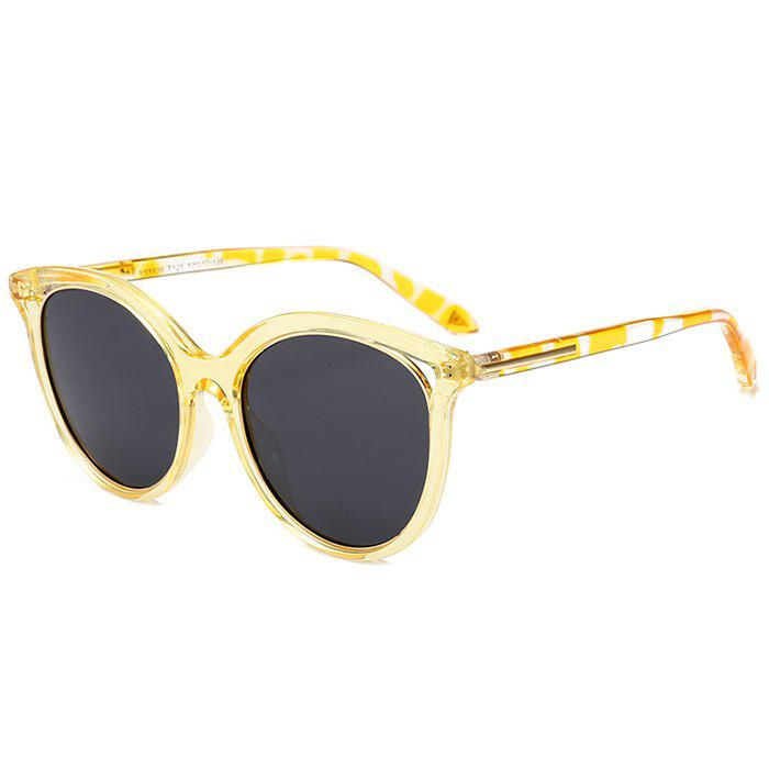Outfit Vintage Metal Full Frame Cat Eye Sunglasses