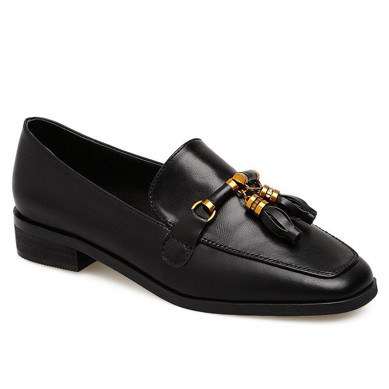 Best Square Toe Tassels Loafers
