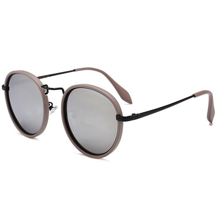 Discount Anti-fatigue Metal Full Frame Round Sunglasses