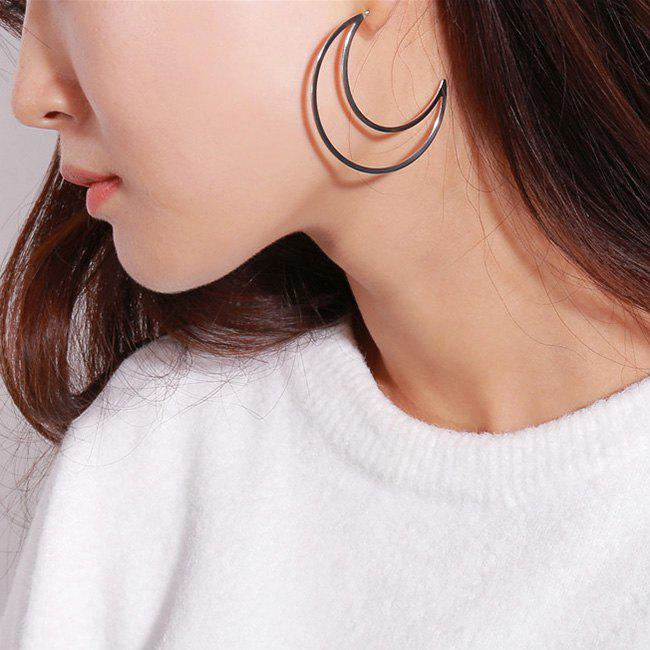Best Moon Shape Drop Earrings