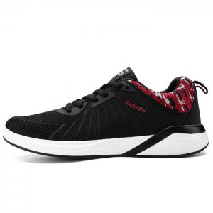 Breathable Splicing Athletic Shoes -