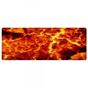 Lava Pattern Water Absorption Area Rug -