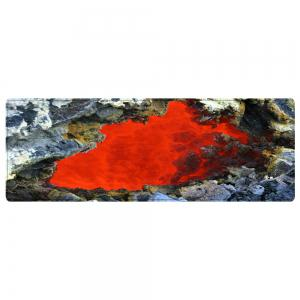 Ablaze Rock Cave Pattern Water Absorption Area Rug -