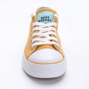 Lace Up Canvas Skate Shoes -
