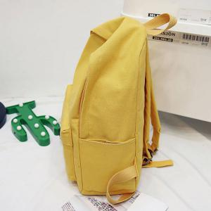 Pendant Letter Multi Usage Backpack -