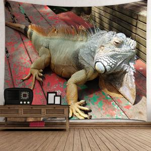 Lizard Printed Wall Decor Hanging Tapestry -