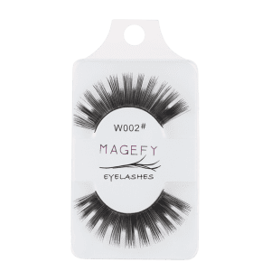 One Pair Thick False Eyelashes Extension Natural Makeup -