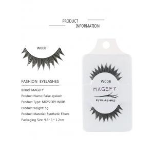 One Pair 3D False Eyelashes Natural makeup -