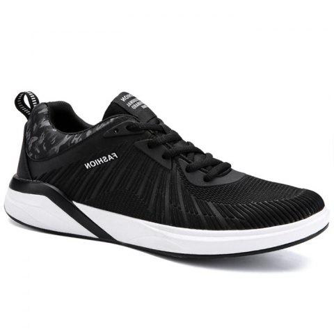 Chic Breathable Splicing Athletic Shoes