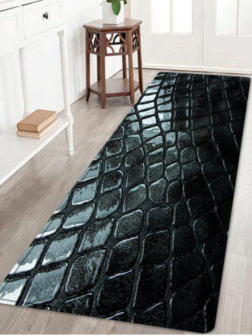 Best Cobblestone Pattern Water Absorption Area Rug