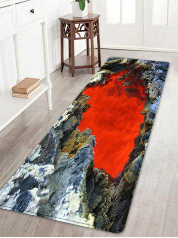 Shop Ablaze Rock Cave Pattern Water Absorption Area Rug