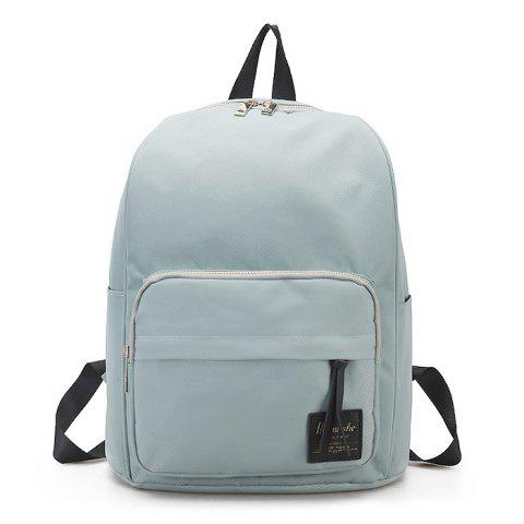Chic Double Side Pockets Backpack